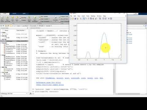 43 MATLAB Tutorial for Beginners- Find Period of a Data using Autocorrelation in MATLAB