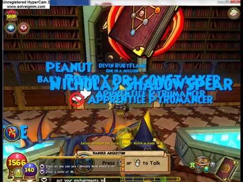 Wizard101 how to make treasure cards
