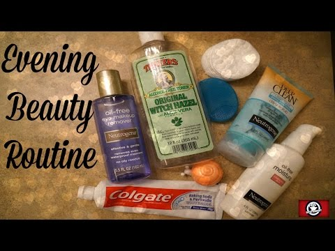 Evening Beauty Routine