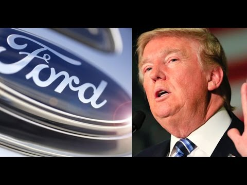 Trump LIES AGAIN, Claims to Have Stopped Ford from Moving Plant to Mexico