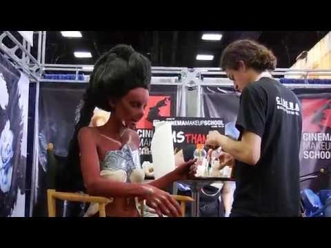 San Diego Comic Con 2015 : Cinema Make up School Live Demo