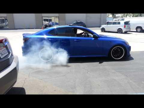 repairing tire flat spots... Burnout style