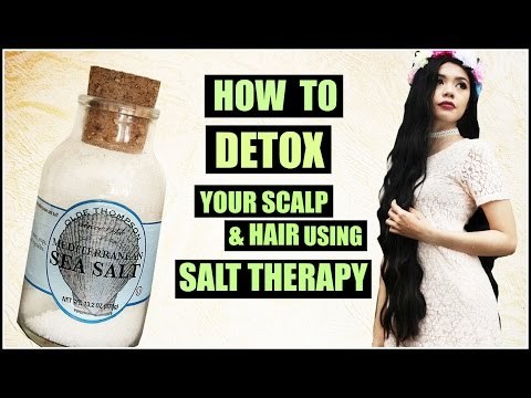 How To Detox Your Scalp & Hair Using SALT Therapy To Make Hair Grow Faster-Beautyklove