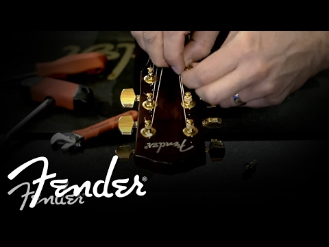 How To | Changing Acoustic Guitar Machine Heads | Fender