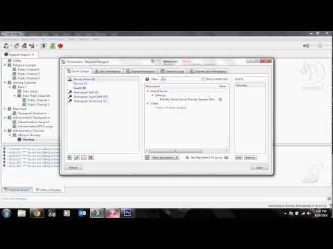 Teamspeak 3 - Priority Speaker for Server Group | TutorialRegion