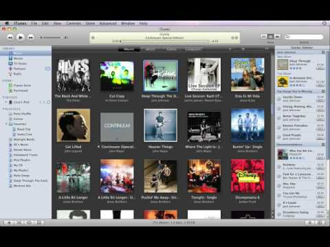 iTunes9: A03 Import Music from CDs CC