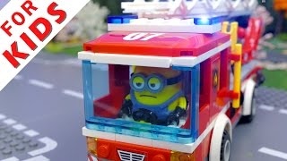 LEGO Fire Truck Compilation