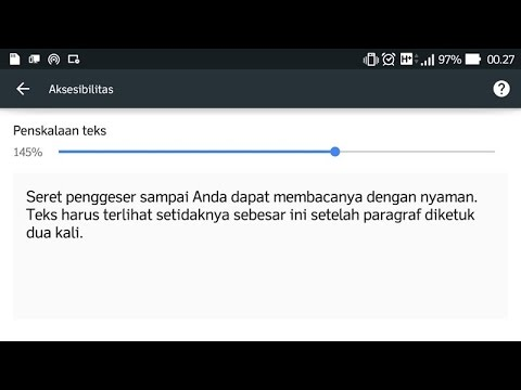 Cara Memperbesar Font Web di Browser Chrome Android