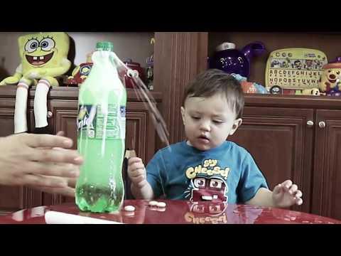 Shawn's Circle: ♫ Mentos Coca-Cola Challenge (#2)   DOH MUCH FUN