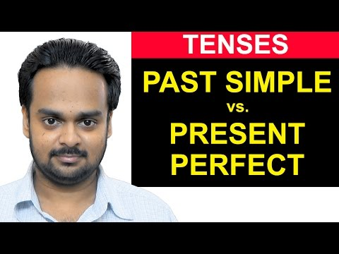 PAST SIMPLE vs. PRESENT PERFECT - What's the Difference? - #1 Most Common Error - English Grammar