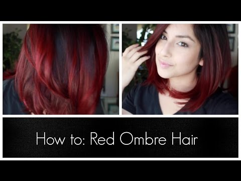 How To: Red Ombre Hair