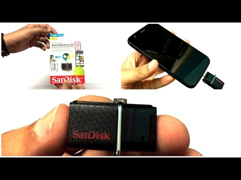 SanDisk Ultra 32GB USB 3.0 OTG Pen Drive Unboxing And Review (INDIA)