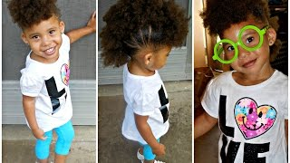 Watch Me 1 Llittle Girls Hair Style Simple Ponytails The Most