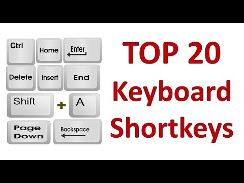 Top 20 Computer Keyboard Shortcut Keys | Computer Shortcut Keys | Best Keyboard Shortcuts