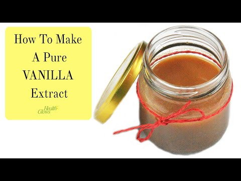 Pure Vanilla Extract - NO Alcohol Or Glycerin