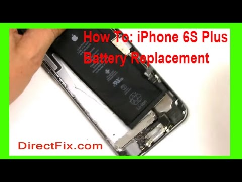 How to iPhone 6s Plus Battery Repair in 3 Minutes