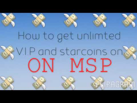How to get unlimited starcoins and VIP on msp (working 2017)
