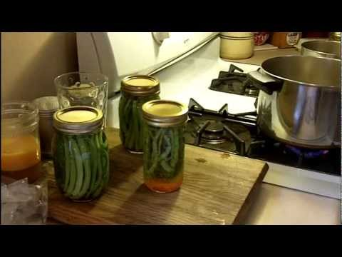 How to Pickle Green Beans. LeRoy Kansas
