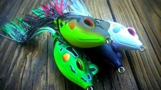 Terminator Walking Frog: Big Bass Crushing Top Water Frogs.