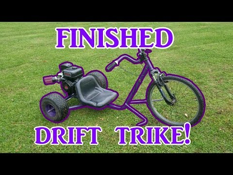 Homemade Drift Trike Part 2 (finished)
