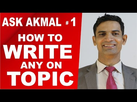 Improve English Writing skills | Learn How to Write on any Topic in Exams by Muhammad Akmal