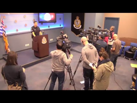 Vancouver Police Press Conference: Investigators are looking for information in a recent incident...