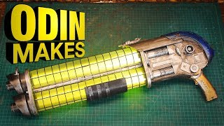 Odin Makes: Big Blaster inspired by Guardians of the Galaxy