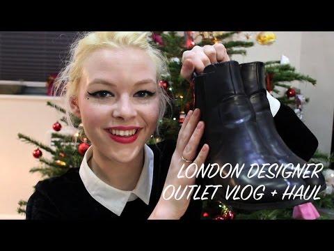VLOG + HAUL: London Designer Outlet