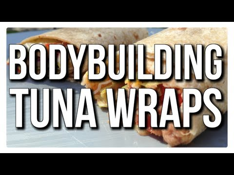 BODYBUILDING SNACK FOR STUDENTS:  5 MINUTE TUNA WRAPS