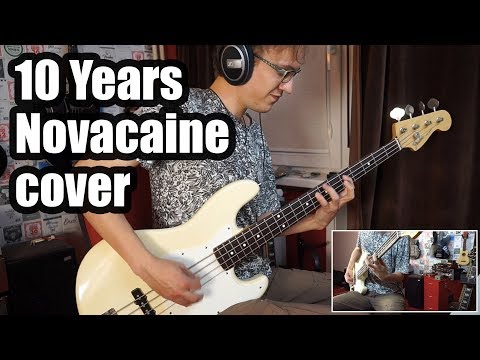 10 Years - Novacaine (Bass Cover) // NEW SONG 2017