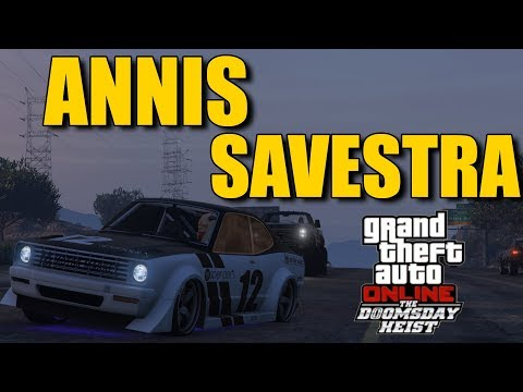 GTA 5 ONLINE : ANNIS SAVESTRA : REVIEW