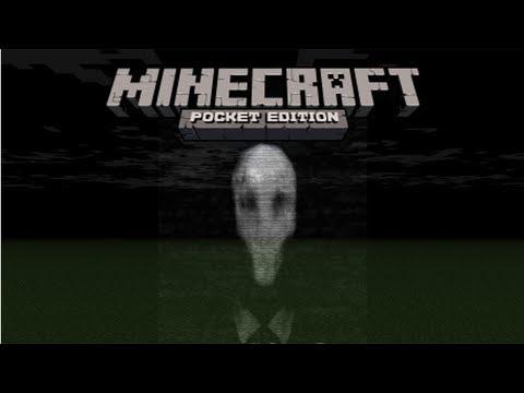 Minecraft PE: Slender man