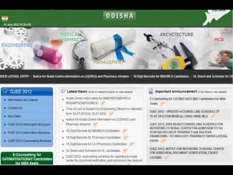 odishajee.org | ojee.nic.in | Results