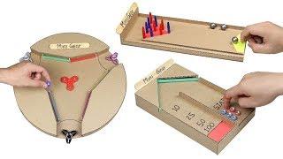Wow! 3 Amazing DIY Desktop Game from Cardboard