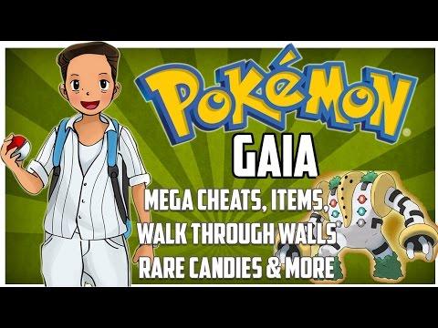 Pokemon Gaia Cheats - WORKING MEGA CHEAT, MYTHICAL POKEMON, MASTER BALL, ITEMS & MORE