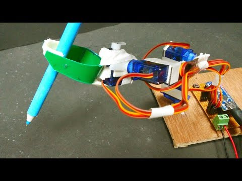 Robot Arm on How it's Made with arduino (Et Discover)