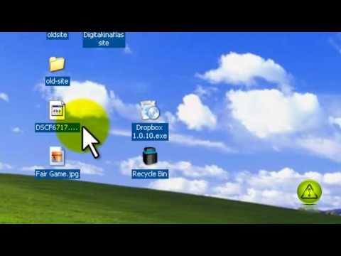 Remove Desktop Icon Background Color in Windows XP