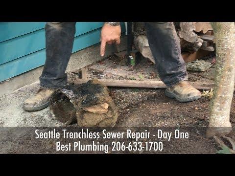 Sewer Backup Repair by Seattle Best Plumbing (206) 633-1700