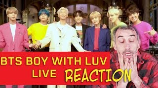 Download BTS Boy with Luv (Live) SNL Reaction Video