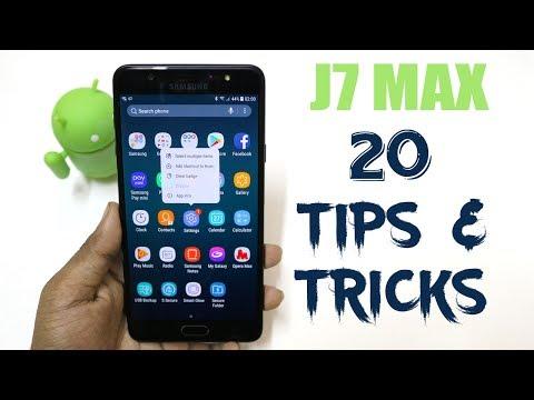 Galaxy J7 Max 20 Best Features | J7 max tips & Tricks | Hindi |