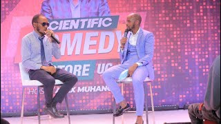Alex Muhangi Scientific Comedy Store Nov 2020 - Quex Kachumbali (Interview)