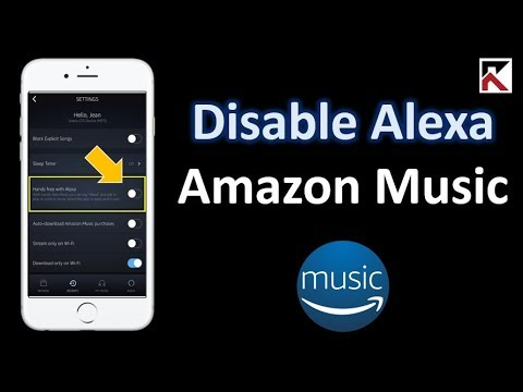 How To Turn Off Alexa Amazon Music