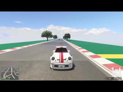 GTA 5 Top Speed Drag Race (Comet Retro vs. Stirling GT)