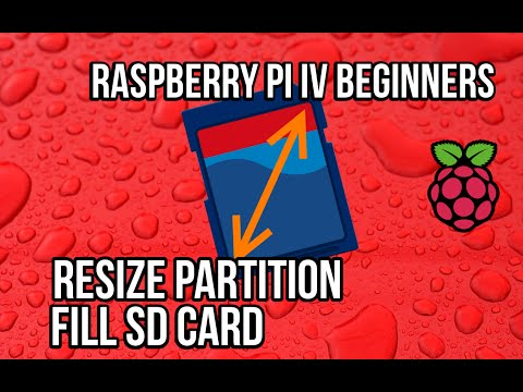 Raspberry Pi - Resize the partition to fill the SD card