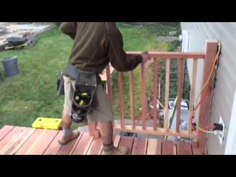 Rexines New Redwood Deck