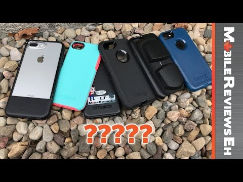 Which Otterbox Case should you get for your iPhone 7? Defender vs Symmetry vs Commuter vs Statement