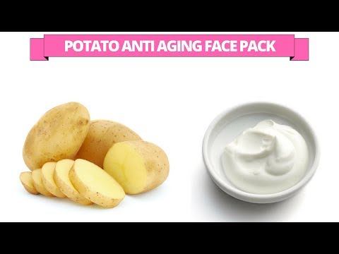 Potato Anti Aging Face Pack
