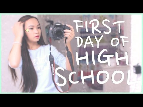 Get Ready With Me! First Day of High School♡
