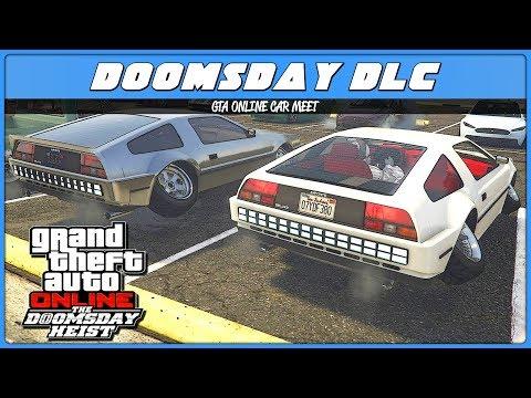 DOOMSDAY HEIST CAR MEET (GTA 5 Online)