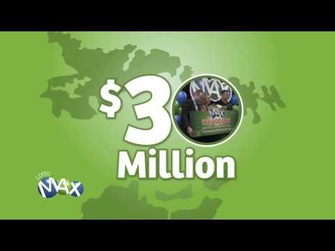 Atlantic Lotto $30M LOTTO MAX winners